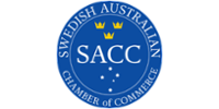 Swedish Australian Chamber of Commerce logo